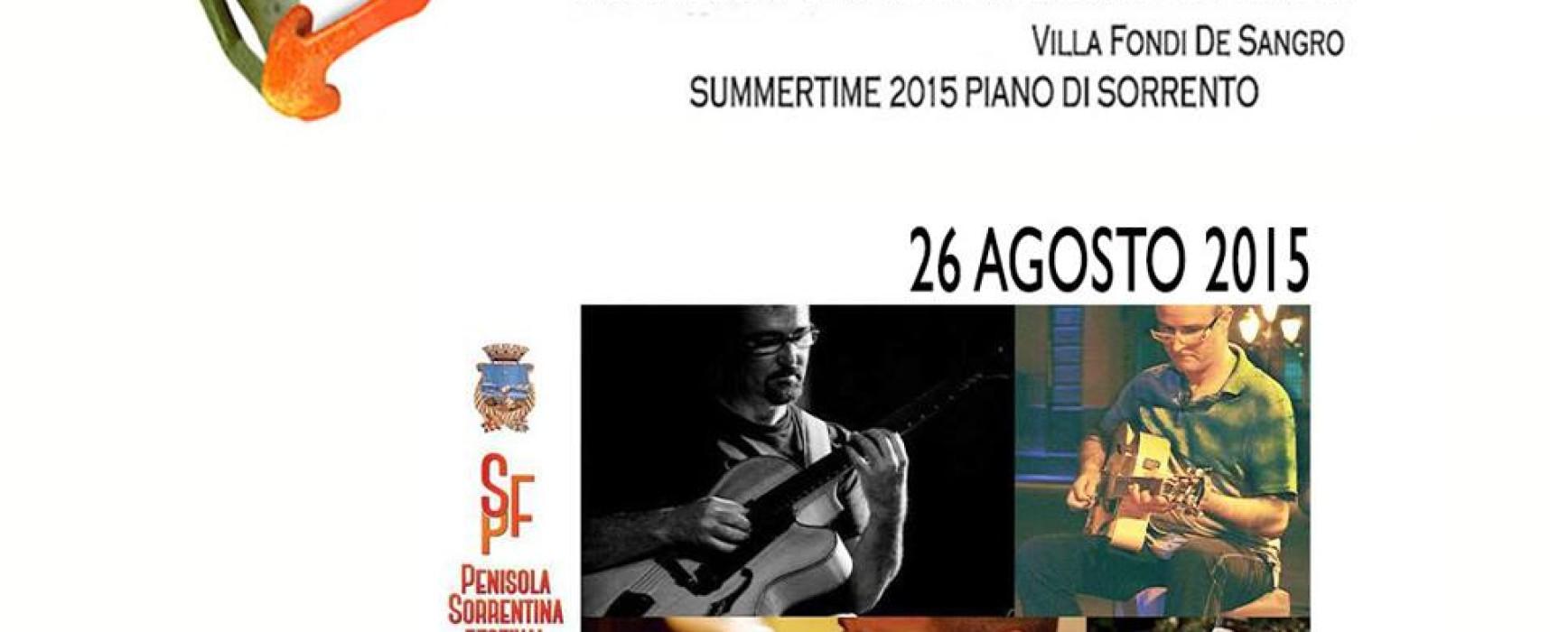 Penisola Sorrentina: E' Festival, prosegue Summertime 2015