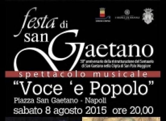 Napoli in festa per San Gaetano
