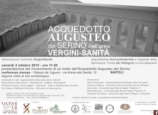 A Napoli scoperto acquedotto di epoca augustea