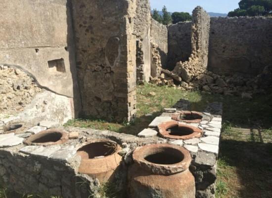 Pompei, nuovo crollo