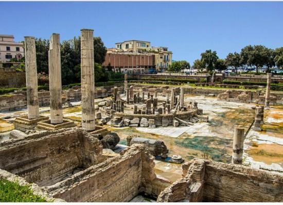 Archeologia, dopo 2000 anni riapre mercato romano Pozzuoli