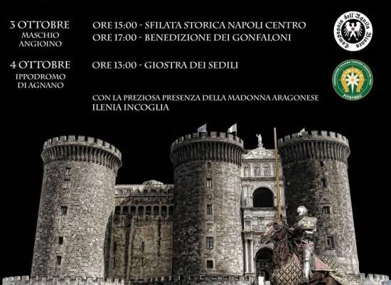 Napoli ritorna al Rinascimento, weekend con corteo equestre e giostra cavalieri