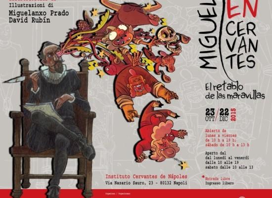 Cervantes a fumetti, una mostra lo illustra