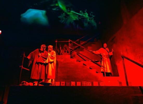 Dante nel sottosuolo di Napoli
