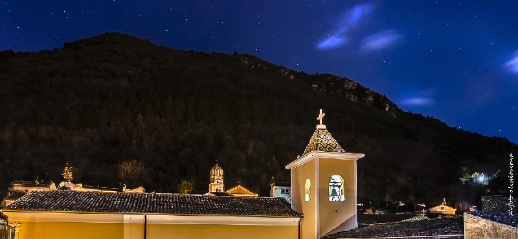 Natale 2015, San Lorenzello si illumina di immenso