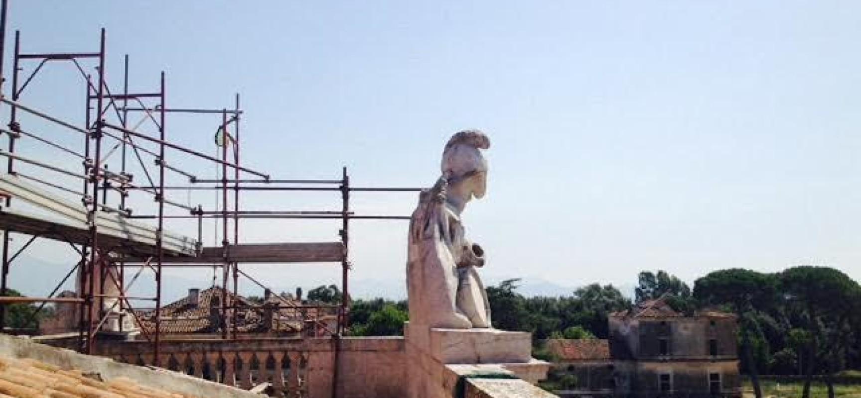 Carditello, porte aperte nel sito in restauro