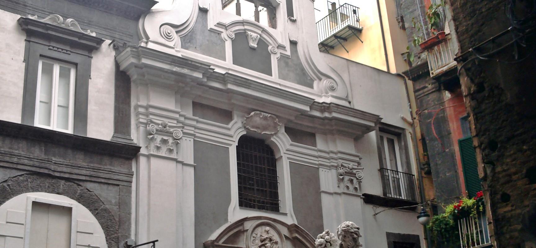Centro storico UNESCO, la cappella ritrovata