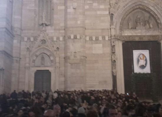 Napoli, Folla immensa per apertura Giubileo