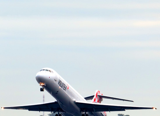 Volotea potenziati voli per Napoli