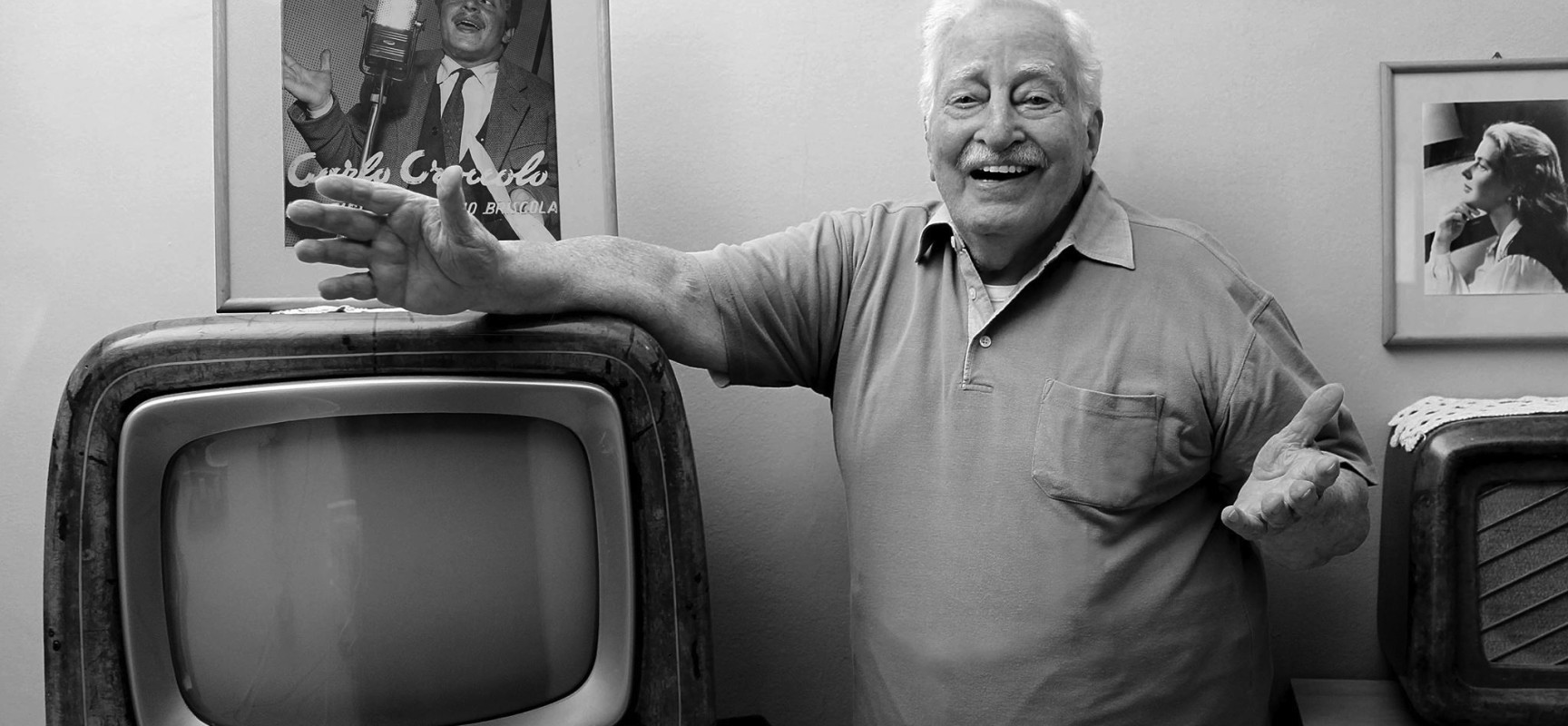 Carlo Croccolo si racconta in 100 film