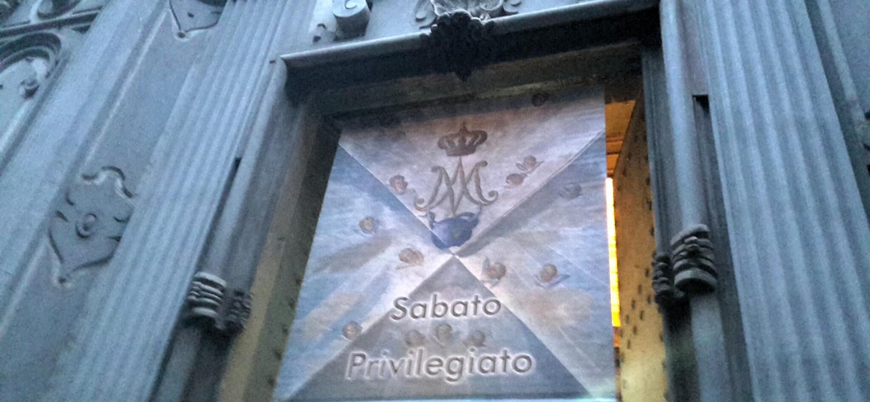 Gesù Vecchio la chiesa del sabato privilegiato