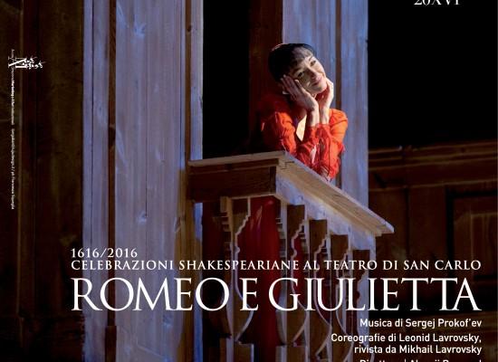 Teatro San Carlo celebra i 400 anni morte Shakespeare