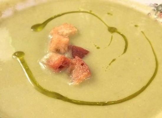 Zuppa del Cavalcanti con EVO DOP Cilento