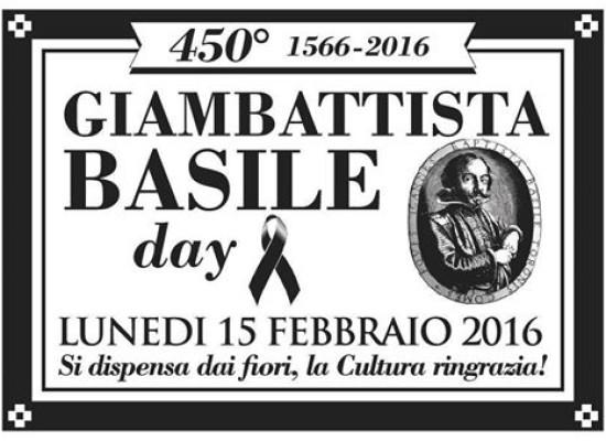 Giambattista Basile Day, la rete si mobilita, manifesti a lutto