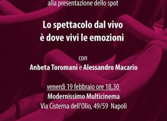 Spot, Anbeta Toromani e Alessandro Macario: Andiamo a vedere spettacoli danza