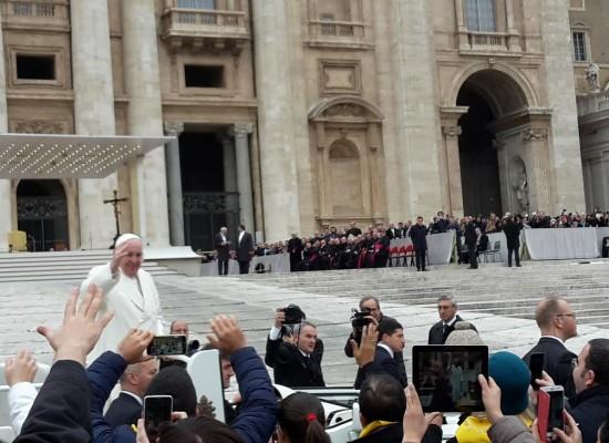 Da Napoli pellegrini della Misericordia