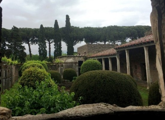 Pompei, cinque domus svelano i giardini