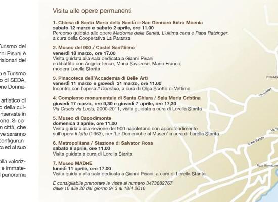 Gianni Pisani, un uomo che cammina 22 opere in tour
