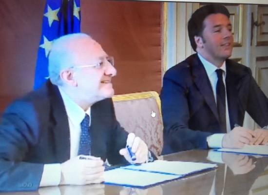 Renzi, Campania deve smuovere PIL ITALIA, basta sprechi