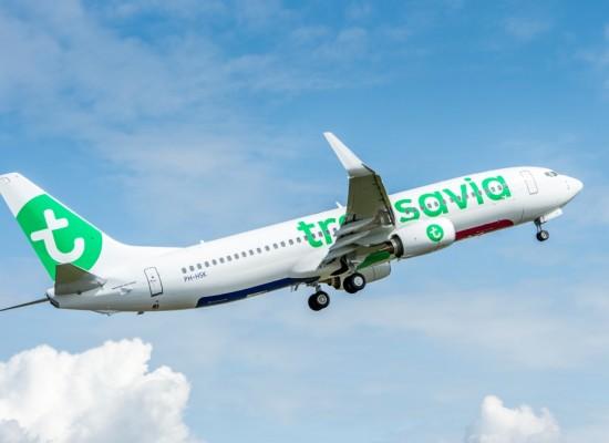 Transavia, offerta voli cresce + 23 per cento