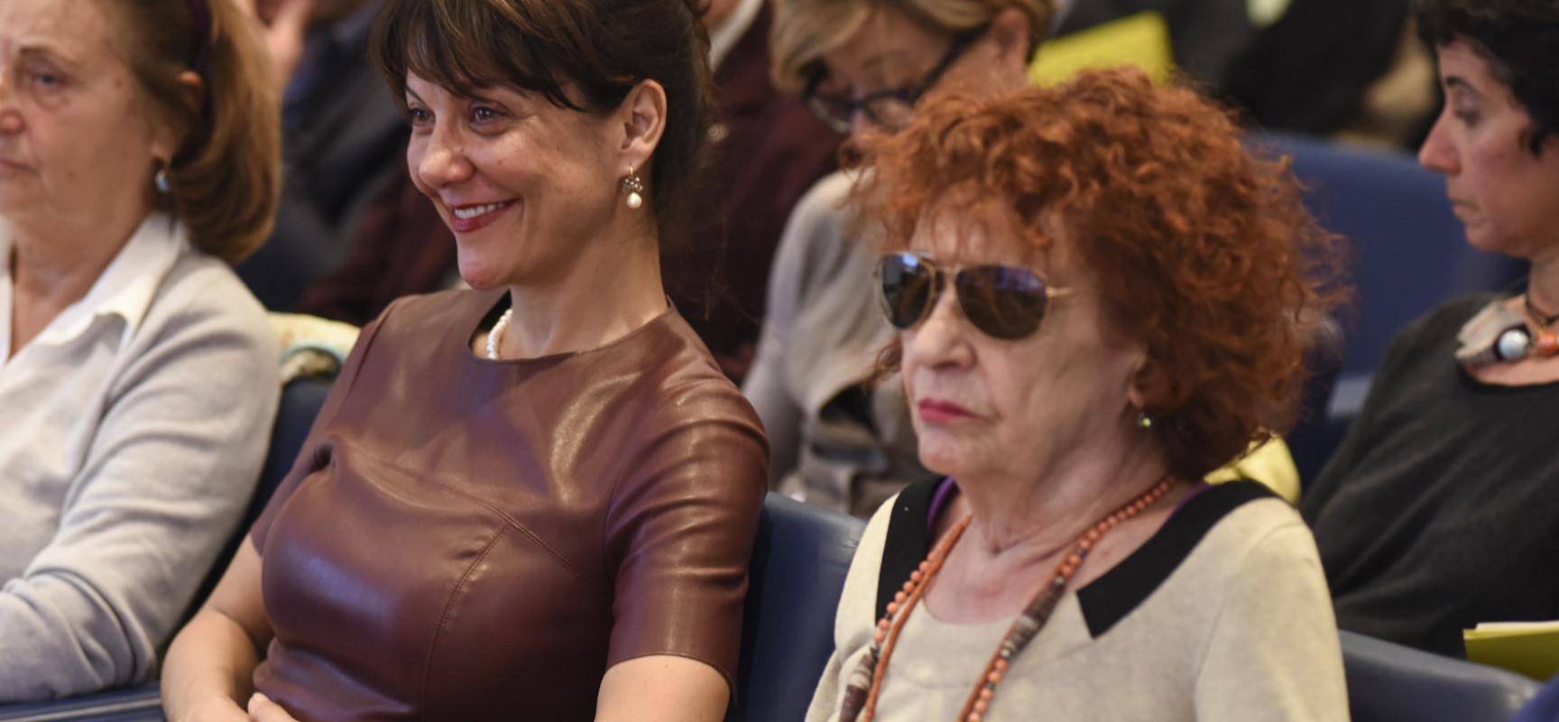 Angela Pagano e Gaia Aprea