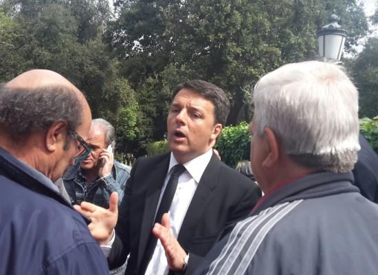 Matteo Renzi a Pozzuoli
