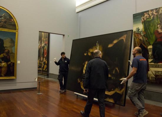 Flagellazione di Caravaggio ritorna a Capodimonte