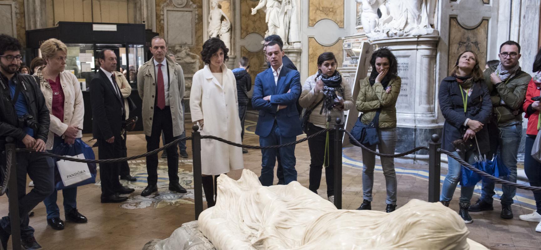 Agnese Renzi a Sansevero