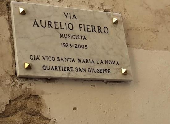 Napoli dedica una strada ad Aurelio Fierro