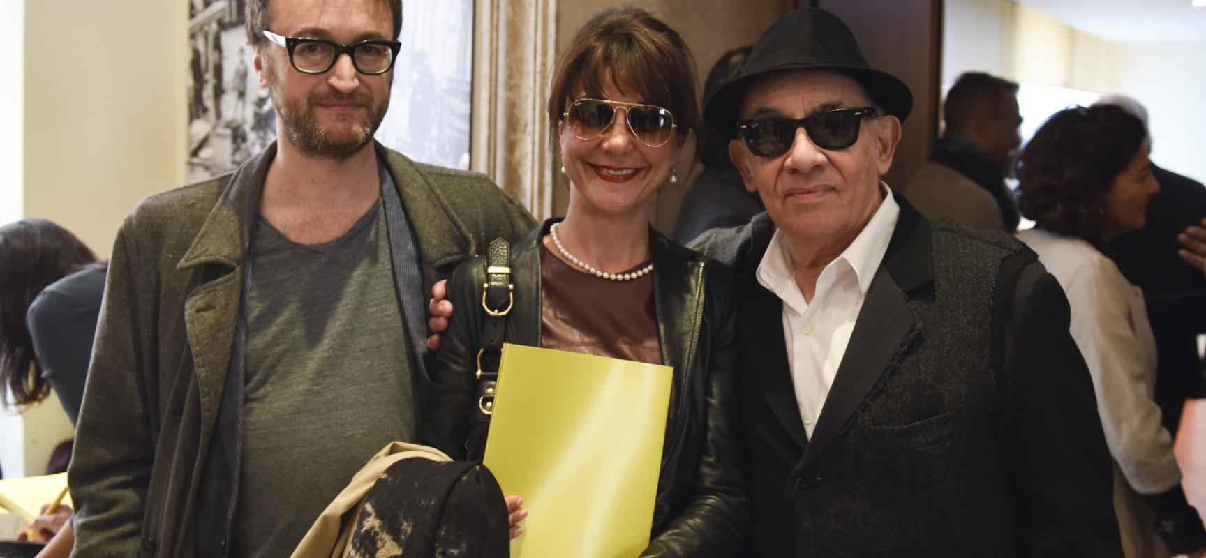 da destra Alfredo Arias, Gaia Aprea e Mauro Gioia
