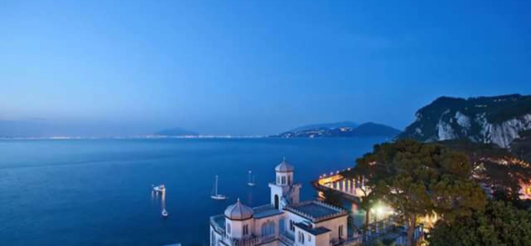 Villa Lysis a Capri, Il delta delle sensazioni