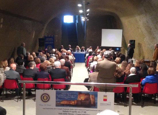 Inner Wheel Italia raduno a Castel dell'Ovo
