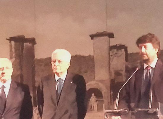 Mattarella a Pompei tra Scavi e Santuario