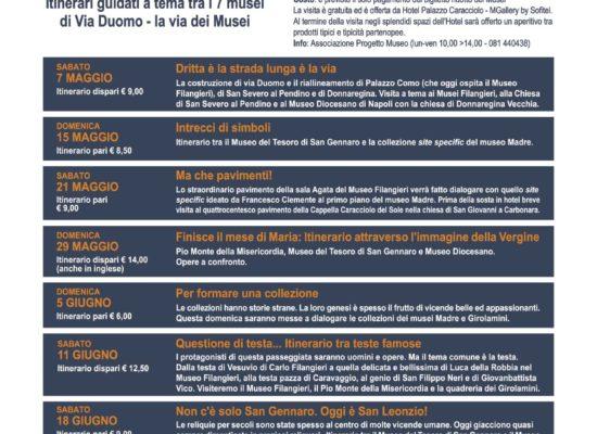 Via dei Musei, il doppio San Gennaro-Museo Madre