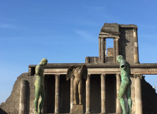 Pompei mostra i giganti di Mitoraj