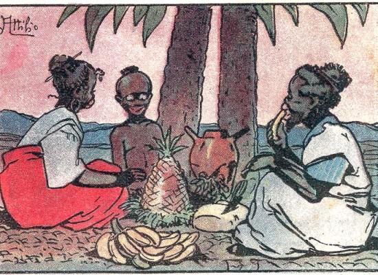 Un secolo di colonialismo a fumetti
