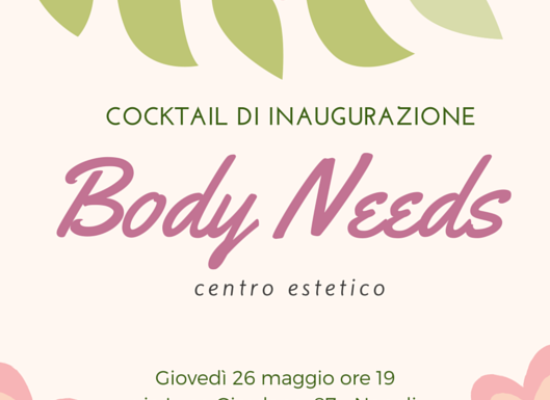 Body Needs, il benessere del tempo