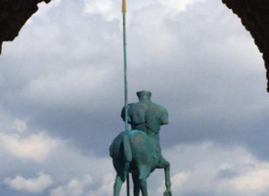Sergio Mattarella a Pompei per Mitoraj