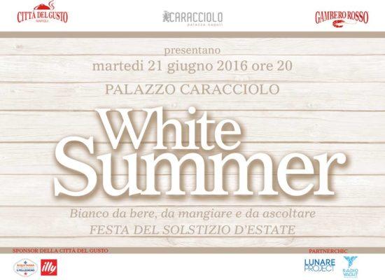 White Summer, eventi a palazzo Caracciolo
