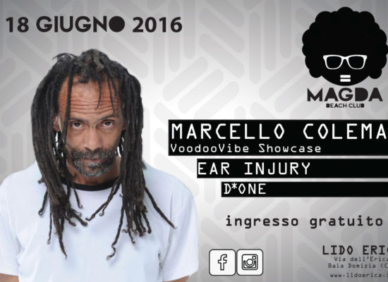 Marcello Coleman al music club di Baia Domizia