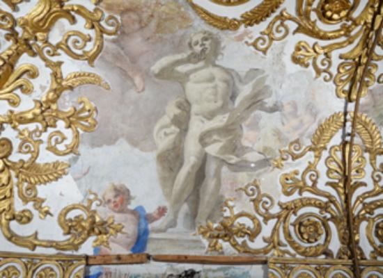 Nell'alcova di Maria Amalia il dipinto ritrovato