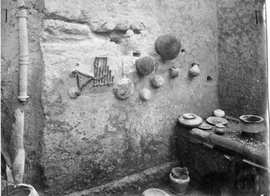 Pompei a tavola, ricostruita la cucina