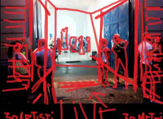 30 ARTISTI per 30 METRI, LIVE DI ARTE