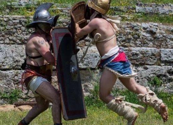 PAESTUM, in viaggio con i gladiatori