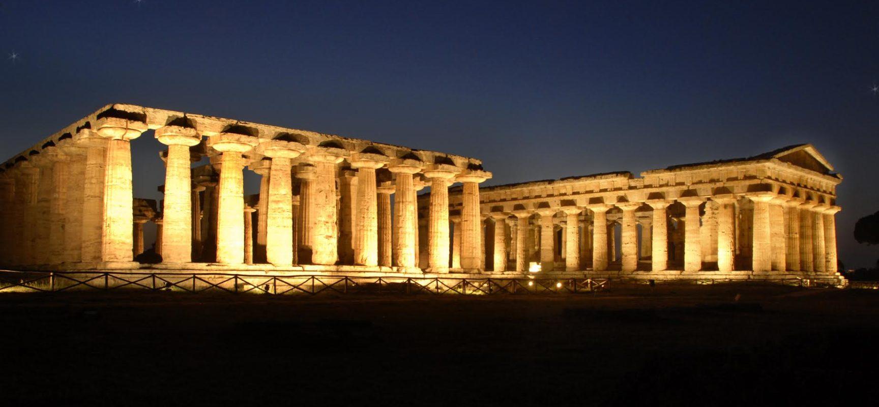 Paestum, Tempio Nettuno diventa palcoscenico