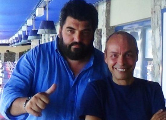 Antonino Cannavacciuolo se non fossi CHEF sarei un pescatore