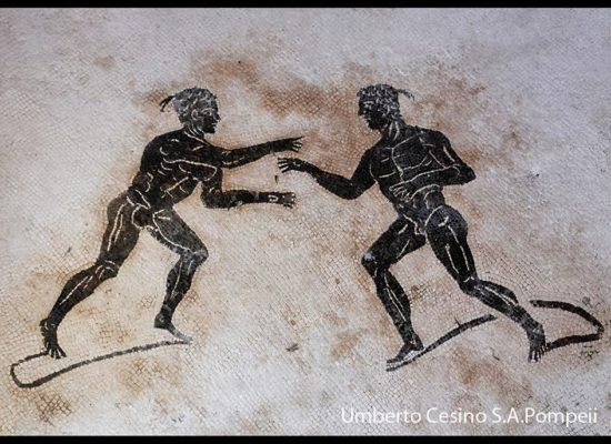 OLIMPIADI 2016, Pompei espone lo Sport