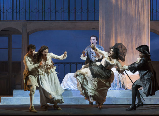 San Carlo, Le nozze di Figaro per la regia di Chiara Muti