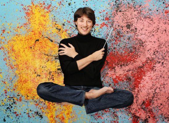 Matthieu Mantanus il musicista in jeans