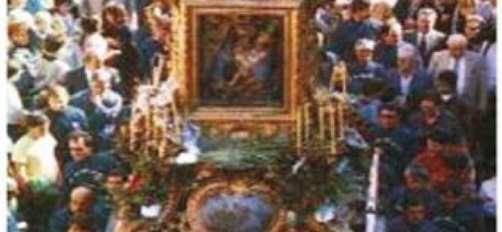 Vietato l'Inchino per la Madonna della Neve